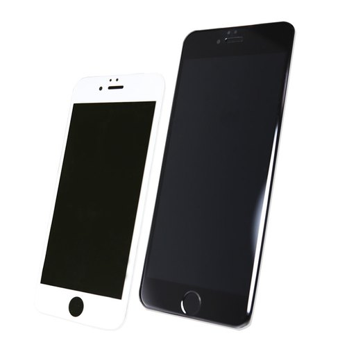 Optima 3D curved Corning Glass Protector iPhone 6 black / white