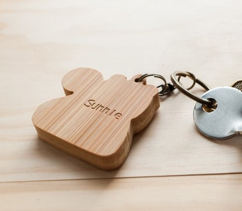 Key ring lettering service (not included keychain fees)