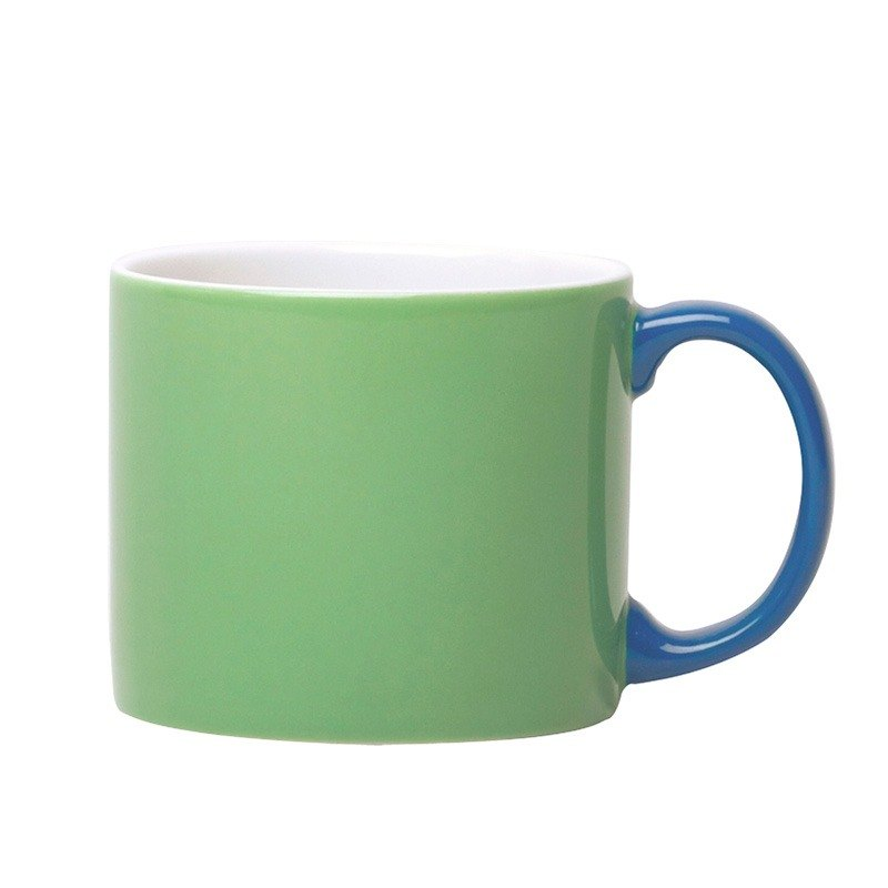 Jansen + co Italian Color Cup-Green + Blue