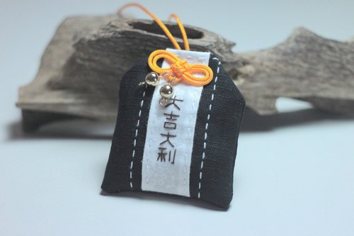 A wish. Sew-Japanese good luck - Fu - Yu Shou blessing / Fukubukuro / talismans