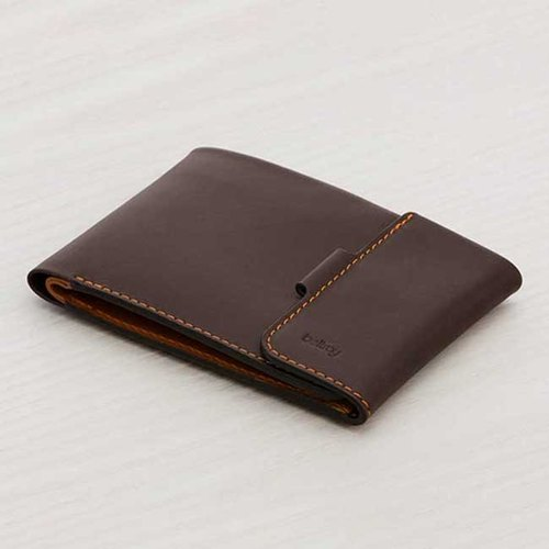 Plain-me exclusive agent in Australia leather brand BELLROY Coin Fold short clip leather fold-change (Java)