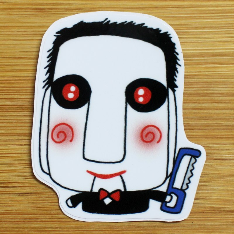 Waterproof Stickers (Small) _ Bad Guy Series 05 (Soul Saw)