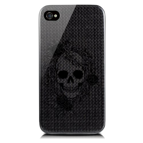 monCarbone Art Collection iPhone 4/4S carbon fiber case(Enlightenment)
