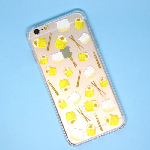 Transparent Phone Case - Dim Sum - Dumplings (background download)