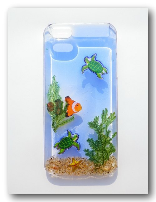 Anny's workshop hand-made Yahua phone protective shell, my aquarium Series II