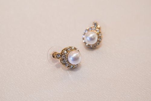 Mermaid's tears pearl earrings paragraph exchange gifts for Mother's Day New Year Valentine's Day gift