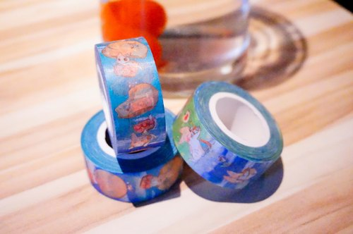 Caramel Rabbit - paper tape ★ flight vignette - Rascal Series / Christmas gift / exchange gifts