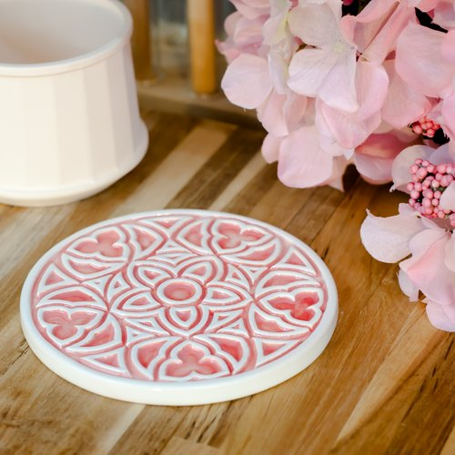 docoramics grilles coasters -Three Five Rose- red special edition