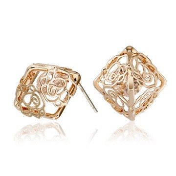 Adara & amp; C.- blooming love three color options chief designer Classic Rose Earrings