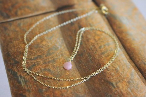 <☞ HAND IN HAND ☜> Opal - Golden Fleece necklace (0469)