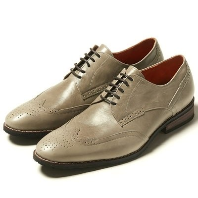 US-‧ will Vanger elegant classic derby shoes Va154║ Yashi official wing pattern gray (in Taiwan)