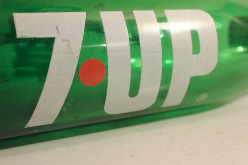 Made in taiwan 7 up Hedy large soda bottle