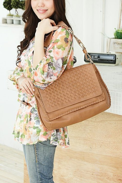 Woven tote MS008