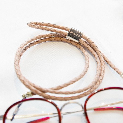 Eyewear Genuine Leather Strap ( Light Brown )