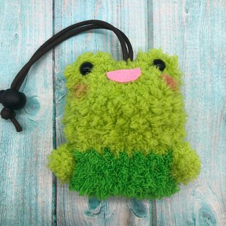 Marshmallow Animal Key Bag - Small Key Bag (Frog)