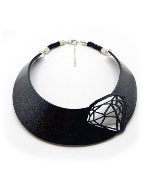 Geometric Diamond Choker