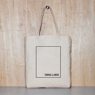 Don't panic Don t Panic original canvas tote bag - 4 sizes
