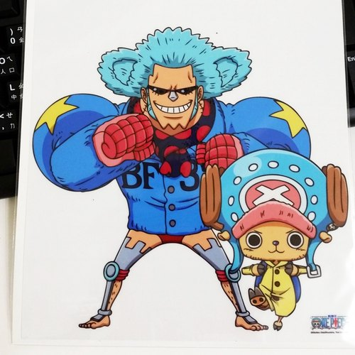 Hang Haiwang wall stickers - Winter Island chapter (Chopper + Franky)