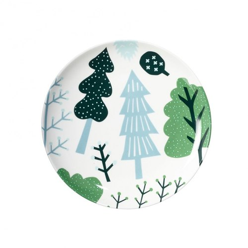 Forest bone china plate | Donna Wilson