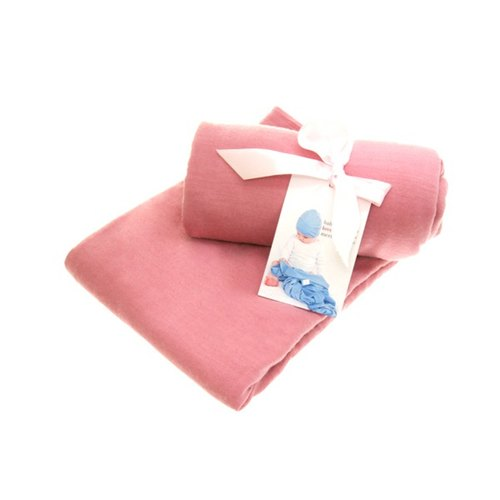 New Zealand baby love merino merino baby Baojin / Portable is a one-piece towel set (Coral Rose)