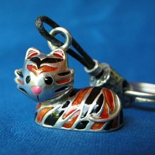 """Dear Deer"" playful tiger. Key ring (12 Zodiac series of classic best-selling models)"