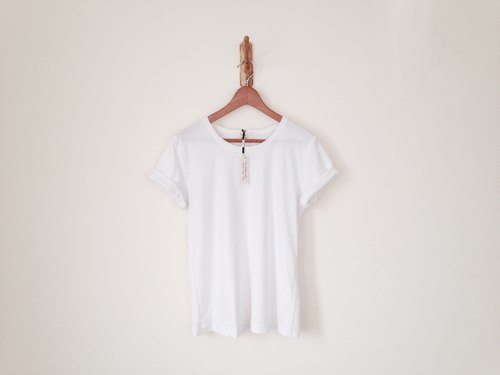 RH clothes / Summer Classic brand wide T-shirt / white (sold out)