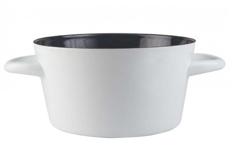 Muurla classic gray enamel made his hands into the pot / Christmas gift / exchange gifts