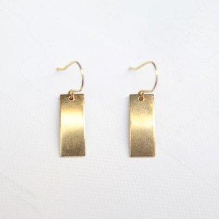 October fall new gold earrings brass clip earrings