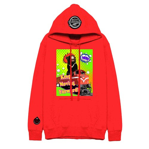 WHDTR031 [MiniBear] Xiao Heixiong onslaught cap T (red)