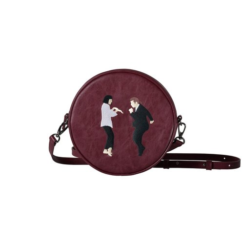 KIITOS intimate family circle Messenger Bag - Pulp Fiction paragraph
