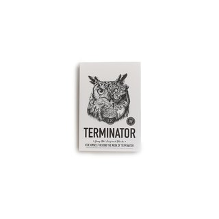 Nine Mt. Yokoyama THEOYO ROOWL Owl Series Limited Edition 16 Opener This Terminator