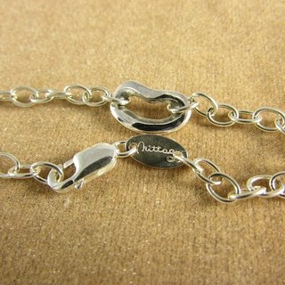 Mittag Michao laughing laughing heart Laughing Heart 925 Silver Lady Bracelet [BL302]