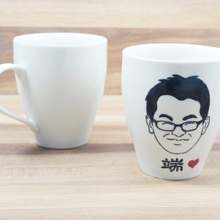 【Customized】Portrait cup (simplified sketch)