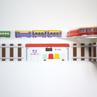 Railway Series masking tape Combo Pack : Railway + Train