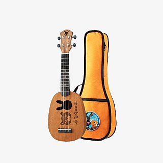 U900 900S - Soprano|Mahogany|Bear 900|Pineapple|Solid Top Ukulele|