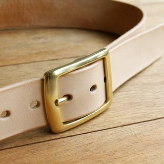 Leather Belt ( Custom Name ) - Simple Original