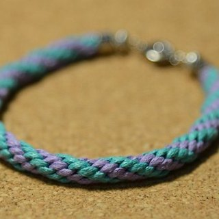 Hand-woven bracelet - understated strange hair