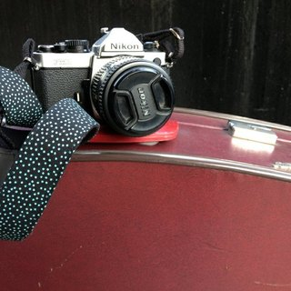 ENDORPHIN handmade camera strap (classic collection - firefly)
