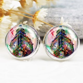 Big Ben - ear clip earrings earrings ︱ ︱ ︱ little face modified fashion accessories valentines