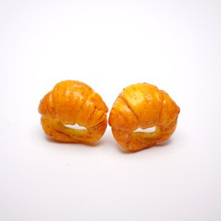 *Playful Design*  Mini Croissant  Earrings