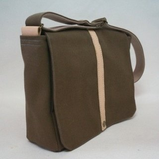 Canvas delicate side backpack A