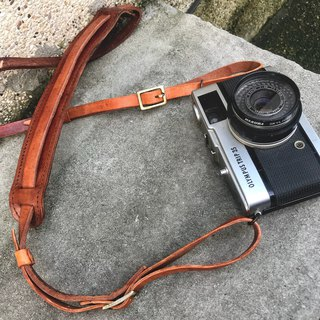 Sienna Leather Camera Strap
