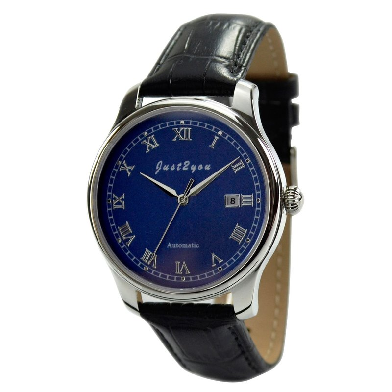 Minimalist Automatic Mechanical Watch Roman Numbers - Free shipping