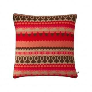 Tree pure wool pillow - red | Donna Wilson