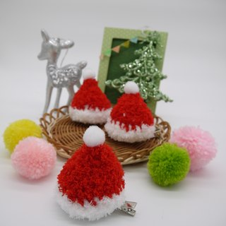 Knitting Christmas gifts Christmas hats hairpin