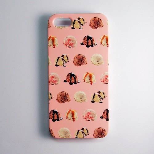 SO GEEK phone shell design brand THE SUMMER GEEK ice cream dots subsection (Pink)
