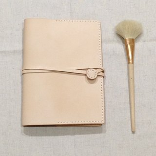 Florence B6  White Oak Leather Notebook & Journal Cover