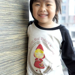 Little Red Riding Hood Long Sleeve Tee (child models)