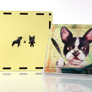 35P Wooden Puzzle_Taurus X French Bulldog