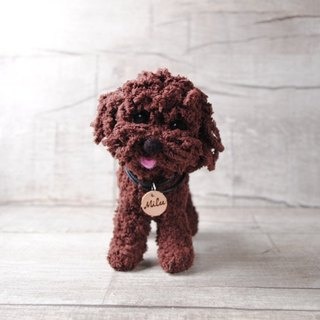 Pets avatar 14 ~ 15cm [feiwa Fei handmade baby doll pet poodle] (welcome to build your dog)